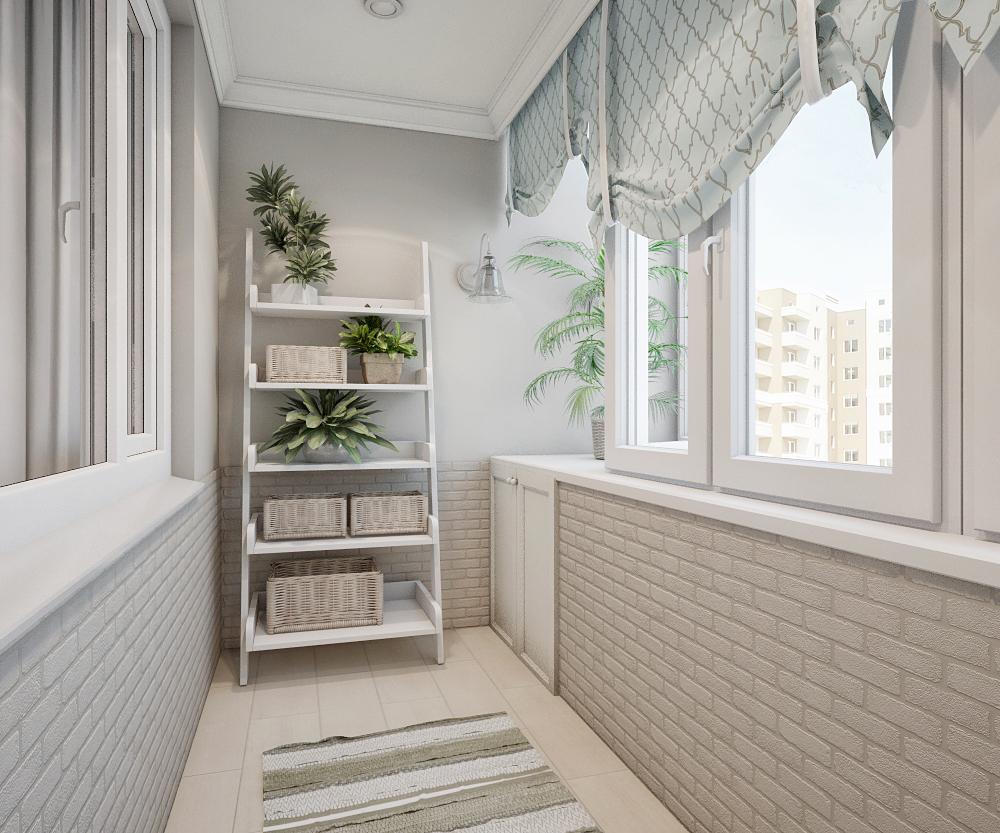 Внутренняя отделка балкона в Челябинске
