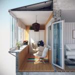 Сколько стоит сделать балкон под ключ?