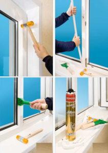 Услуги ремонта пластиковых окон
