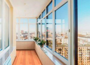 Остекление балконов по акции